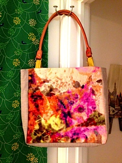 Huntington Beach Tote on Project Sewing Workshop