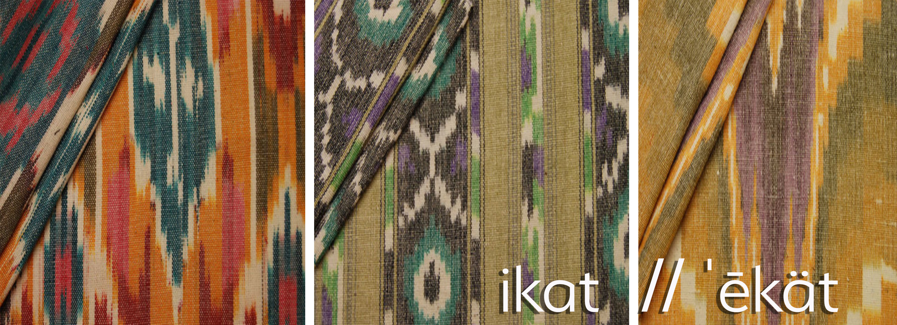 what is ikat banner